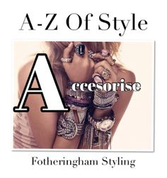 Accessories are a great way to express your individuality.  Let your imagination and personality run wild... You can dress up or down the same outfit. Be surprised what a difference accessories can do to your overall look.