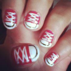 Converse All Star Nails
