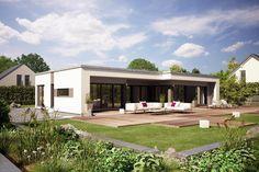 Fertighaus Bungalow Finess 148 mit moderner Architektur von Büdenbender