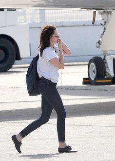 Kristen Stewart in 7 For All Mankind