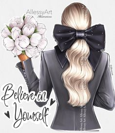 Fashion Images, Fashion Art, Christmas Ribbon Crafts, Fashion Clipart, Art Of Beauty, Cute Girl Wallpaper, Personalized Notebook, Girls World, Fashion Sketches