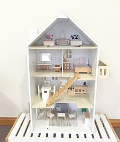 Kmart Dollhouse Hack How to renovate the Australian Kmart Dollhouse for under $100