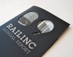 Railinc Annual Report 2009 on the Behance Network