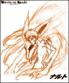 Naruto no Kyuubi by imbelossien