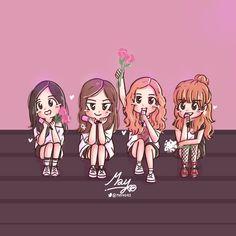 นางสาวกระแชง💋 (@_Dressella) | Twitter Best Friend Drawings, Bff Drawings, Chibi, Cute Cartoon, Cartoon Art, Pink Drawing, Blackpink Poster, Blackpink Memes, Black Pink Kpop