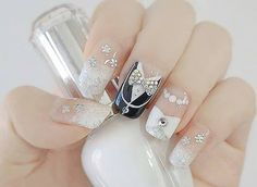 26 best Wedding Nails for the Bride and Party images on Pinterest ...