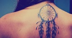 Filter your nightmares with dreamcatcher tattoos. It is stylish, pretty,and makes for great tattoos. 166 of our favorites!