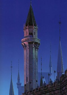 Sleeping Beauty tower
