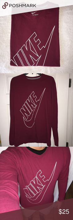 Nike Long Sleeve Regular Fit Very comfortable, worn a few times just around the house.   Thank you for visiting, let me know if you're interested. Nike Shirts Tees - Long Sleeve