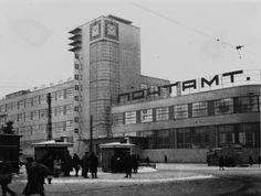 zolotoivek: Krakow   Post office in Kharkov, 1928.     #socialist #brutalism #architecture