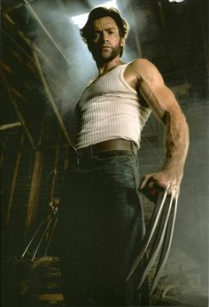 Wolverine - definitely on my zombie team...assume he'd be immune to bites and those claws would be great weapons. Not bad to look at, either!