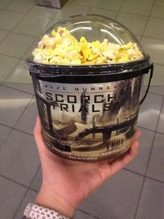 I totally want this! Why didn't they serve this at my theaters? Maze Runner Trilogy, Maze Runner Series, The Fever Code, Maze Runner The Scorch, The Scorch Trials, Cookie Dough, The Cure, Fandoms, Tbs