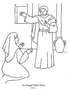 biblical images of angel announcement to Mary - Google Search