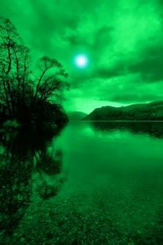 ullswater in green (taken wit a green filter) - Chris Beever