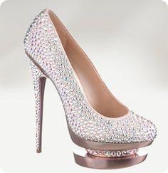 Gianmarco Lorenzi Shoes -  Pumps - Sandals 2014 / Zapatos con cristal Swaroski
