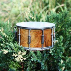 Custom miniature snare drum ring box wedding ring box
