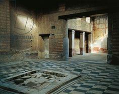 Giclee Print: Italy, Campania, Herculaneum, House of Mosaic Atrium BC : Ancient Pompeii, Pompeii And Herculaneum, Positano, Amalfi, Roman Architecture, Historical Architecture, Ancient Architecture, Roman City, Roman History