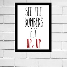 Essendon Bombers - AFL club song print - Digital Download - All AFL clubs available Essendon Football Club, Fraternity Formal, West Coast Eagles, Songs, Digital, Iphone Wallpaper, Room, Prints, Gift Ideas