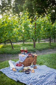Photos/Chill - Perfect Napa Summer Picnic and Wine Tasting Picnic Date, Summer Picnic, Beach Picnic, Comida Picnic, Romantic Picnics, Romantic Dinners, Festa Party, In Vino Veritas, Wine Tasting