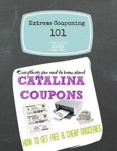 Everything you need to know about those little coupons that print at the grocery store for $2 off your next purchase, etc. There are also tips on how to get Cheap or Free Groceries using these Catalina offers! Great Tips for newbies if you're wanting to save money at the grocery store.