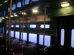 Train Car from 1950s Chicago by viivanova, via Flickr