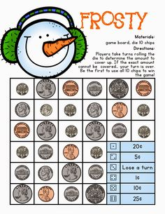math worksheet : 1000 ideas about money games on pinterest  counting money  : Christmas Math Games Worksheets