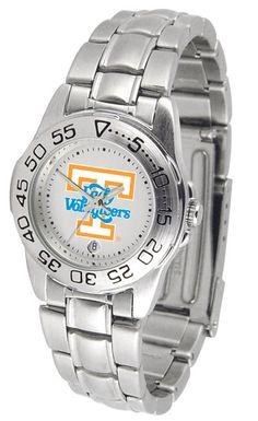 Tennessee Lady Volunteers Ladies Sport Steel Watch