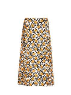 Buttercup-print midi skirt | Marni | MATCHESFASHION.COM UK
