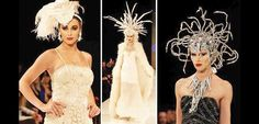 SUE WONG MYTHOS & GODDESSES - A SIZZLING DREAM IN THE TOLUCAN TIMES. Headdresses by: Kicka Custom Design Jewelry by: Vilaiwan.  #LAFW #Hollywood #LAFashion #Couture #suewong #artheartsfashion #projectethos #aidshealthcarefoundation #theorganicface #FHIheat #runway #fashionshow #fashion #suewongfashion #beauty #magic #transformation #OTRC #fashionpolice #gothopera #rockopera #opera #mythology #josephcampbell #dreams