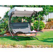 Schwingliege Duo Swing Xxl Fur 2 Personen Sonnenstunden Geniessen Mit Der Doppelliege Schaulelliege Gartenliege Doppelliege Garten Liege Garten Doppelliege
