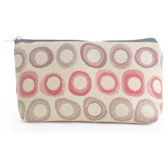 Medium Size Cosmetic Bag to Organize All of Your Loose Items by Designer Zippered Bag by Mastercraft Fabrics. $4.50. use for many of your travel items: pills, make up, pencils, computer supplies. easy to clean. medium size 8 1/2 x 4 1/2 x 2 1/2. made from 100% polyester. lined with a different fabric made from 100% polyester. Zipper opening, holds more than you think. Fun fabric designs made exclusively for Mastercraft Fabrics. Sewn in USA. Save 68% Off!