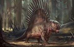 Dimetrodon by Raph04art