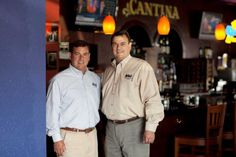 Brothers Roberto and Ricardo Molina  run Molina's Cantina restaurants in Houston. (Missing: brother Raul Molina  III.) Photo: Julie Soefer / HC