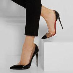 Shoespie Elegant Wear to Work Black Stiletto Heels