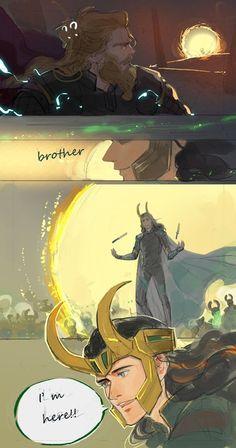 Loki deserved it. Thor deserved it. The audience deserved it Marvel Avengers, Marvel Comics, Hero Marvel, Memes Marvel, Marvel Funny, Captain Marvel, Loki Thor, Loki Laufeyson, Loki Fan Art
