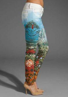 Mother Denim 'Landscape' jeans
