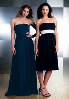 bridesmaid 3 - the short one in brown with a colored sash