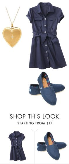 """""""Ten"""" by supernerdgirl300 on Polyvore featuring beauty, French Toast and TOMS"""