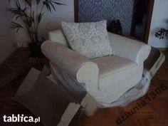 FOTEL Z MEBEL PLAST SERIA SEMPRE , Ecru,okazja!!! w Warszawie - image 1 Armchair, Image, Furniture, Home Decor, Sofa Chair, Single Sofa, Decoration Home, Room Decor, Home Furnishings