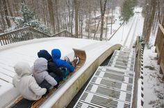 Toboggan Chute In Ohio: The Chalet in Cleveland Metroparks