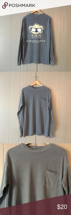 "NWOT Bartholomew Long Sleeve TShirt Perfect condition! Comfort Colors graphic Shirt. Armpit to armpit is 20"". Length is 28"". Offers are welcome. ☺️ Bartholomew Tops Tees - Long Sleeve"