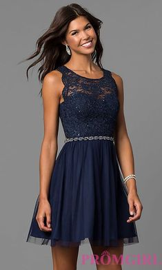 Junior-Size Short Navy Blue Homecoming Party Dress Off the Shoulder Short Sleeves Simple Short Homecoming dresses Grade 8 Grad Dresses, Navy Blue Formal Dress, Navy Blue Homecoming Dress, Grad Dresses Short, Blue Homecoming Dresses, Hoco Dresses, Trendy Dresses, Blue Dresses, Formal Dresses