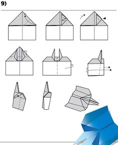 Super ideas origami paper plane how to build Origami Paper Plane, Origami Folding, Origami Easy, Origami Airplane, Paper Airplanes Instructions, Best Paper Plane, Diy Paper, Paper Crafts, Diy Crafts