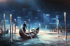 French Artist Creates Surreal Fantasy Universes Inspired By Hayao Miyazaki And Tim Burton | Bored Panda | Bloglovin'