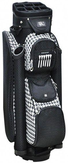 dd7133a09fb RJ Sports Boutique Womens Houndstooth Golf Bag  Ladiesgolf