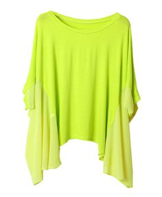 Great bright batwing blouse! These color is such a staple... really can mix with any other color $32