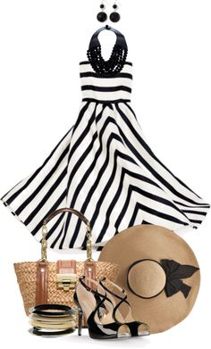 """""""Strapless Dress"""" by angela-windsor on Polyvore"""
