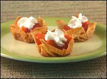 Hungry Girl Strawberry Peach Tartlets (guilt free!)