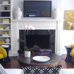 Lovely A Style Fashionable Interview With Kathryn Chaplow | Pierre Frey, Fireplace  Surrounds And Black Granite