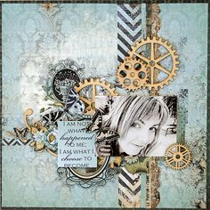 Layout byTrudi Harrison using Kaisercraft 75 cents